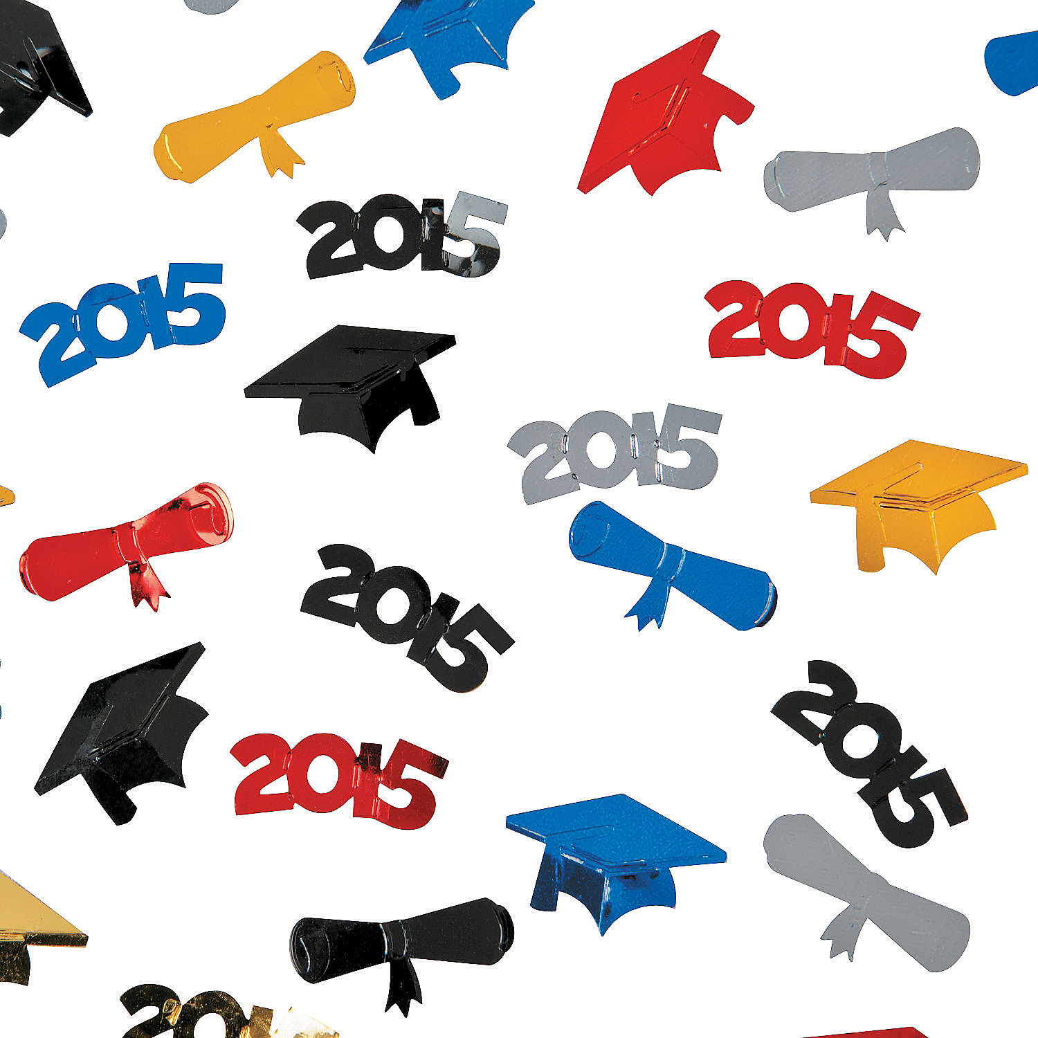 Party Confetti Drawing 2015 Graduation Confetti