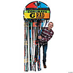 Congrats Grad Mortar Board Door Curtain