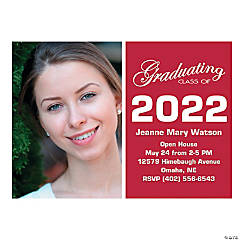 Custom Photo Graduation Invitations