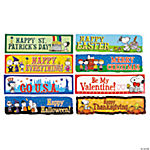 Peanuts Mini Bulletin Board Holiday Set