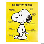 Snoopy's Perfect Friend Poster