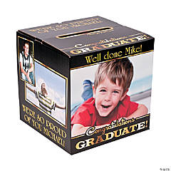 Graduation Custom Photo Card Box