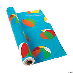 Beach Ball Tablecloth Roll