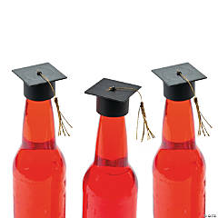 Mortarboard Bottle Toppers