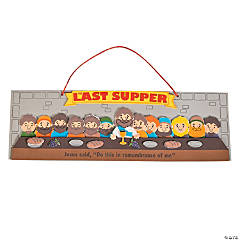 Jesus & Disciples Last Supper Sign Craft Kit