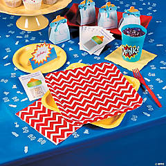 Super Bump Superhero Baby Shower Party Supplies
