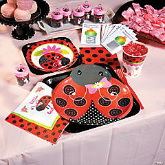 Ladybug Baby Shower Party Supplies