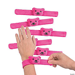 Bear Face Slap Bracelets