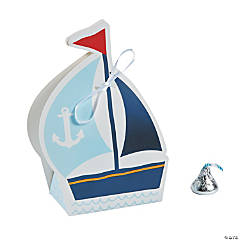 Nautical Baby Shower Favor Boxes