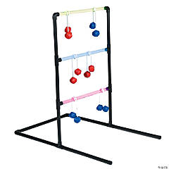 Plastic LED Ladder Ball Toss Game