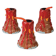 Molded Volcano Cups