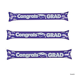 Inflatable Purple Graduation Boom Sticks