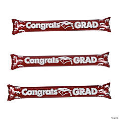 Inflatable Burgundy Graduation Boom Sticks
