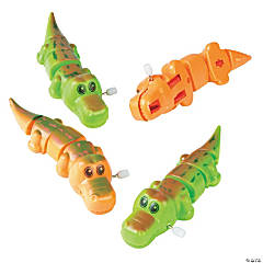 Plastic Wind-Up Alligators