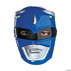 Vacuform Blue Power Ranger Mask for Adults