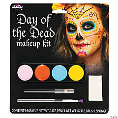 Female Day of the Dead Makeup Kit