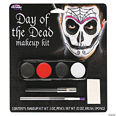 Male Day of the Dead Makeup Kit