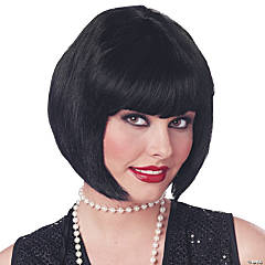 Flapper Wig in Black
