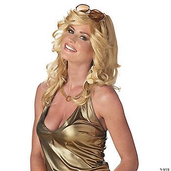 Discorama Mama Blonde Wig 3