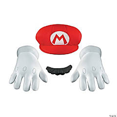 Super Mario Brothers Mario Accessory Kit for Adults