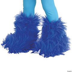 Electric Blue Monster Boot Covers