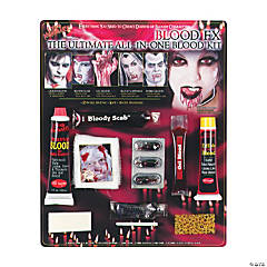 Living Nightmare Ultimate All-in-One Blood Makeup Kit