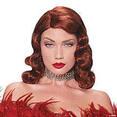 Red Femme Fatale Wig for Women