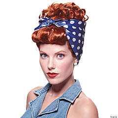 Riveter Wig for Women - Red