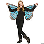 Soft Butterfly Wings for Children - Blue