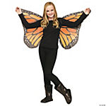 Soft Butterfly Wings for Children - Orange