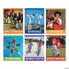 Motivational Sport Poster Set