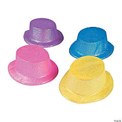 Candy Glitter Top Hats