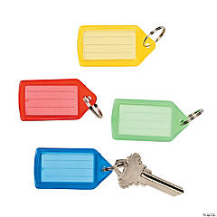 Bright Tag Key Chains