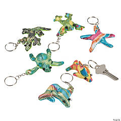 Sea and Sand Critter Key Chains