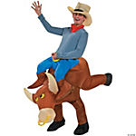 Bull Rider Inflatable Costume for Men
