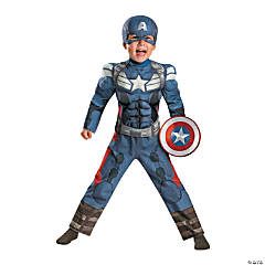 Captain America 2 Muscle Costume for Boys