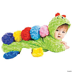 Colorful Caterpillar Costume Bunting for Infants