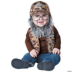 Duck Dynasty Baby Uncle Si Costume for Toddlers