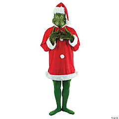 Deluxe Grinch Costume for Adults