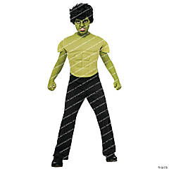 Hulk Child Top Costume for Boys