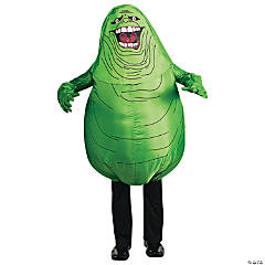 Inflatable Ghostbusters Slimer Costume for Adults