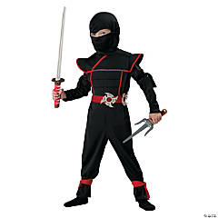 Ninja Stealth Costume for Boys