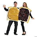 Peanut Butter and Jelly Couples Costume for Adults