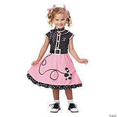 Poodle Cutie Costume for Girls