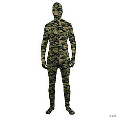 Skin Suit Camo Costume for Adults