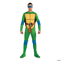 Teenage Mutant Ninja Turtle Leonardo Costume for Men