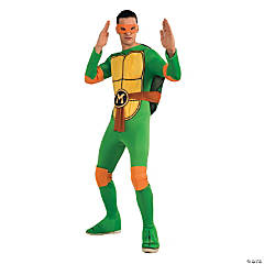 Teenage Mutant Ninja Turtle Michelangelo Costume for Men