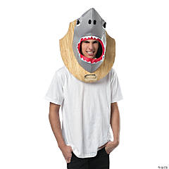 Trophy Head Shark Costume for Adults