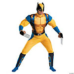 Wolverine Classic Muscle Costume for Men