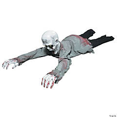 Animated Crawling Zombie
